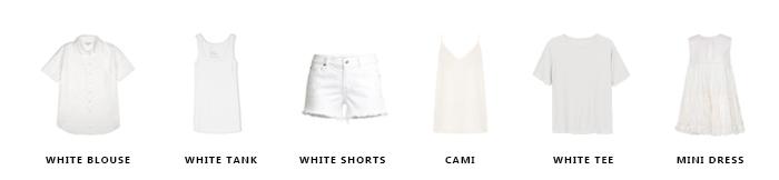 Summer Capsule Wardrobe 1