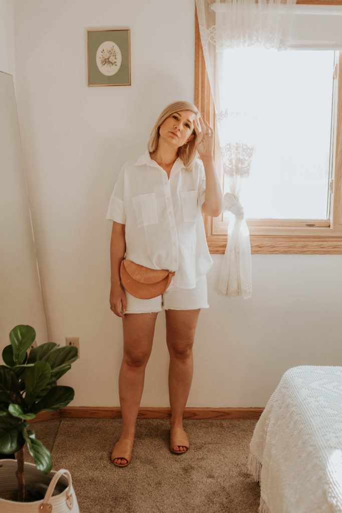 30 Days of Summer Style Day 25: Wearing all White
