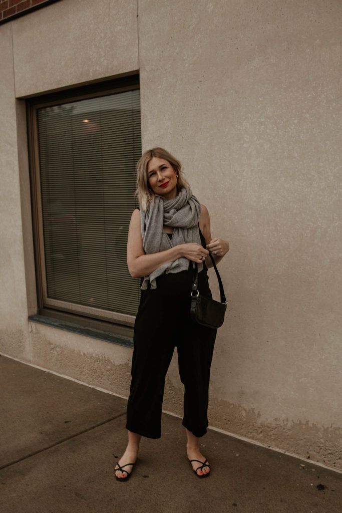 30 Days of Summer Style Day 24: black jumpsuit
