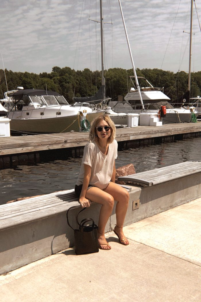 Door County: What I Packed, Wore + Dairy Free Friendly Restaurants