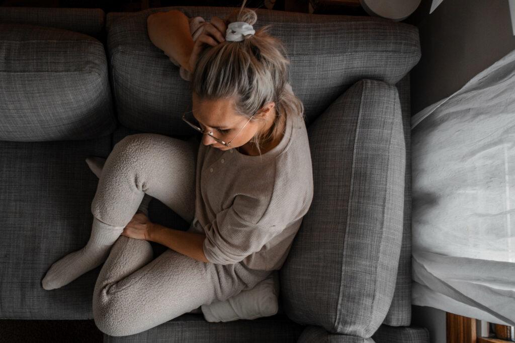 My Favorite Ethical Loungewear, Pajamas, & Under Garments, everlane fleece sweatpants and thermal