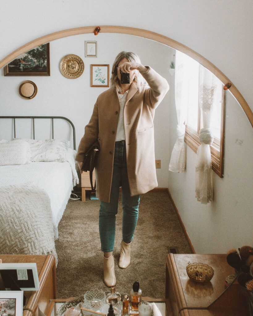 7 Days of Everlane Outerwear: Outfit Ideas + Reviews, Cocoon Coat