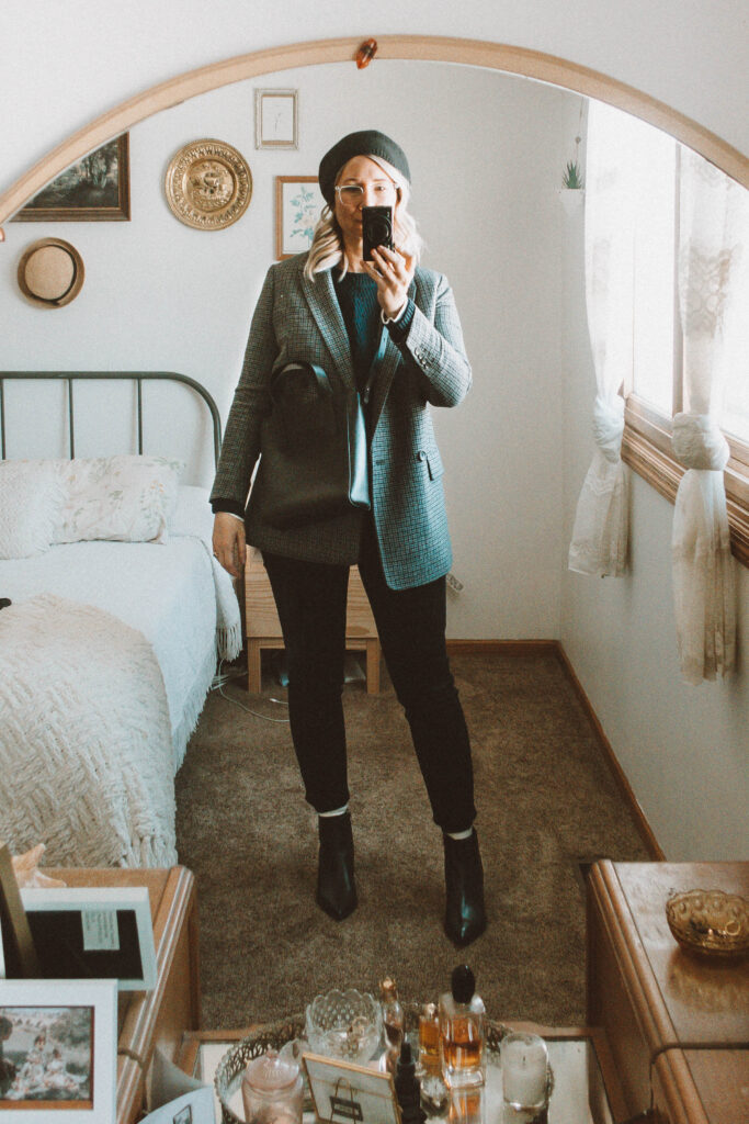 6 Days of Everlane Outerwear: Outfit Ideas + Reviews, Oversized Double Breasted Blazer