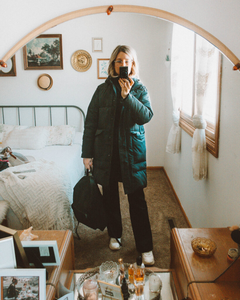 6 Days of Everlane Outerwear: Outfit Ideas + Reviews, ReKnew Long Puffer