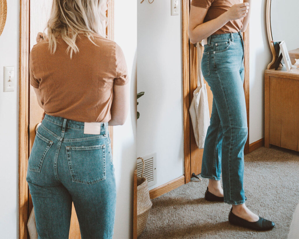 Everlane Denim Guide: Every Style Reviewed, super straight jean